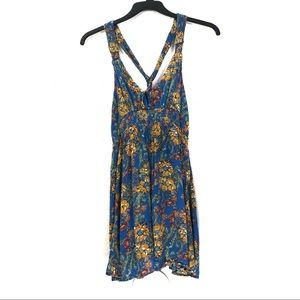 Free People Dresses - Free People Washed Ashore Floral Mini Dress